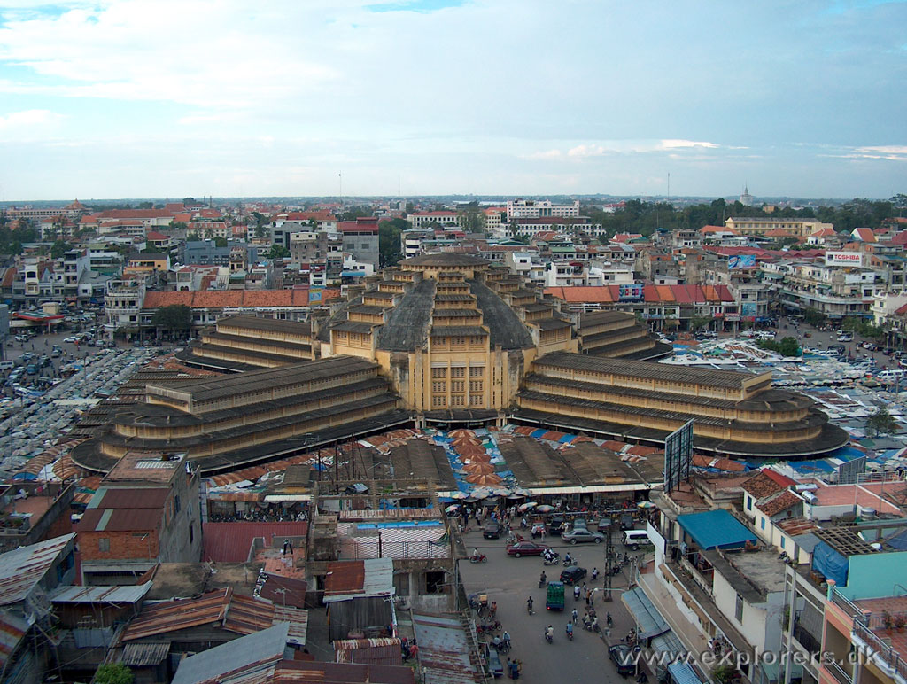 Central Market, Phnom Penh